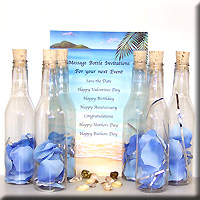 Photo Message in a Bottle