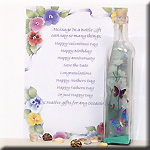 Message in a Bottle gift for women