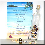 Message in a Bottle gift for men